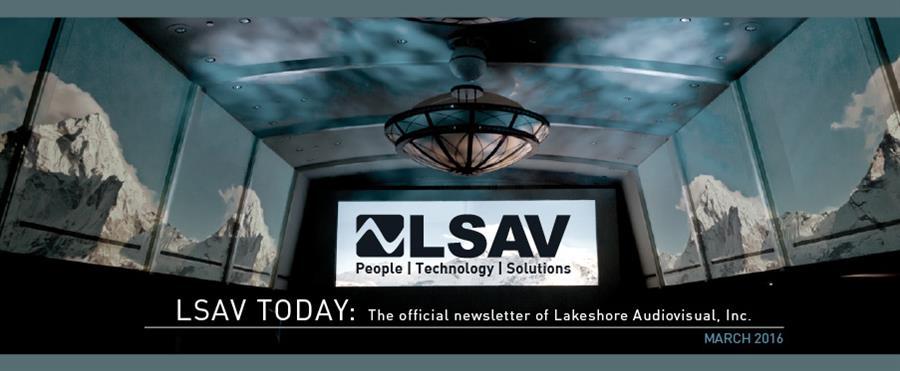 LSAV Newsletter March 2016