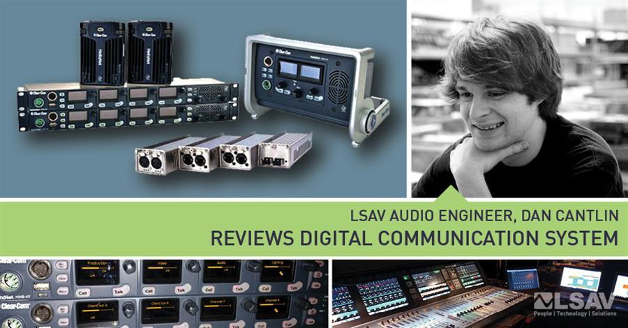 LSAV Audio Engineer Dan Cantlin